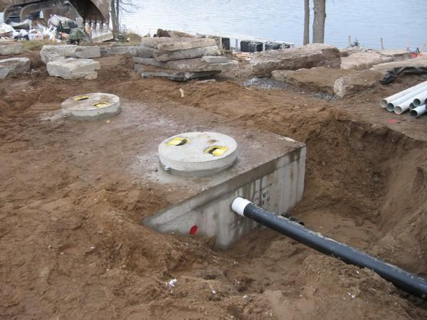 Septic services petrolia tx 76377 for Household septic tank design